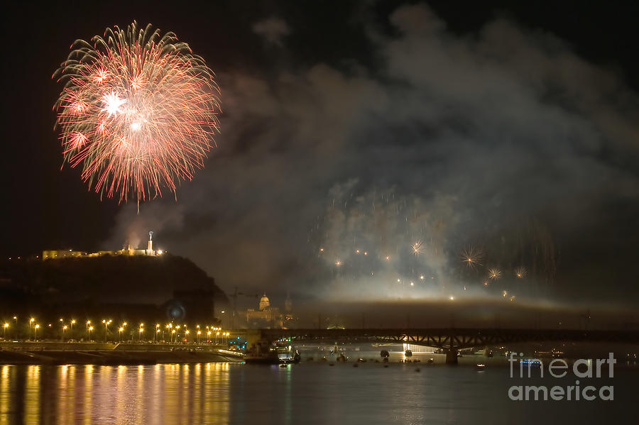 4th Photograph - The Firework by Odon Czintos