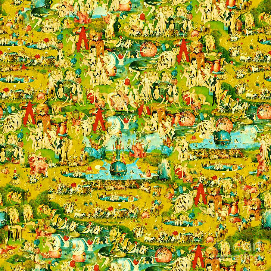 The Garden Of Earthly Delights Painting