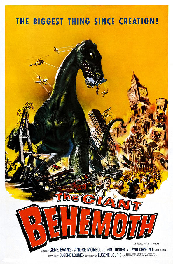 1950s Movies Photograph - The Giant Behemoth, 1959 by Everett