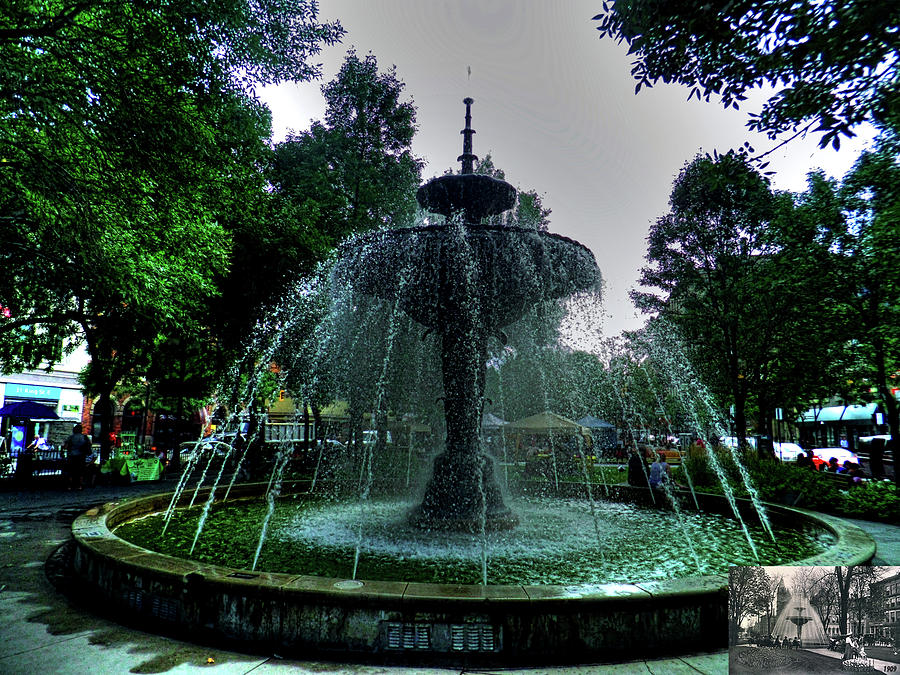 The Gore Park Fountain Photograph