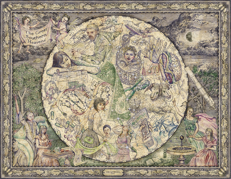 The Great Southern Heavens Tapestry - Textile