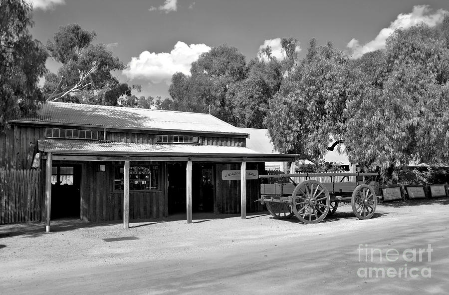 The Heritage Town Of Echuca Victoria Australia Photograph