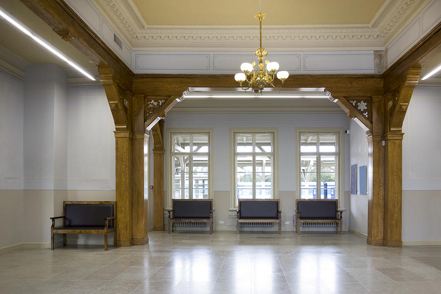 The Interior Of The Waiting Room Hall Photograph