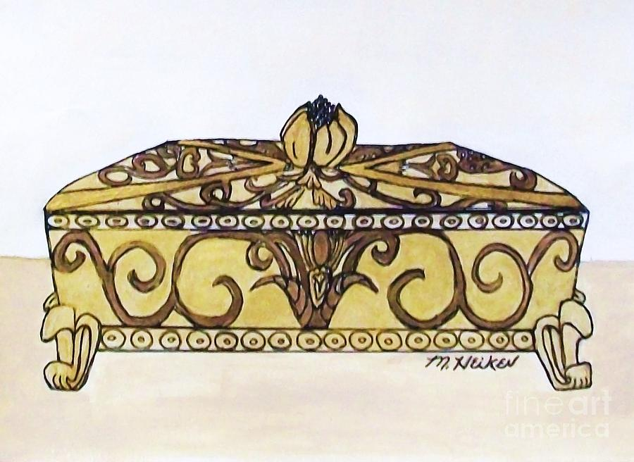 The Jewelry Box Painting  - The Jewelry Box Fine Art Print