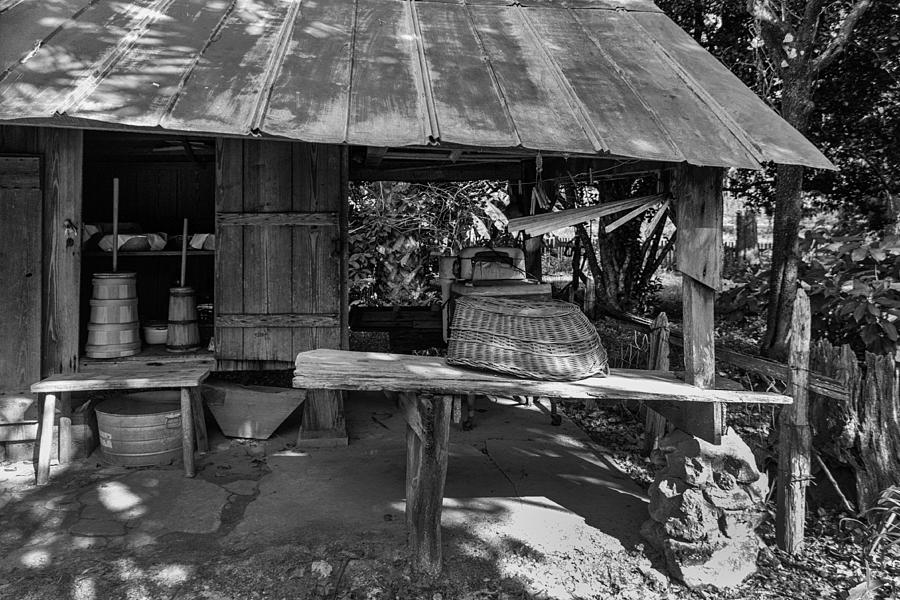 The Laundry Shed Photograph