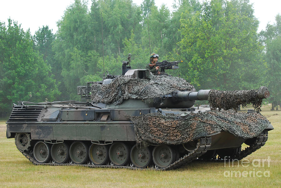 The Leopard 1a5 Main Battle Tank Photograph