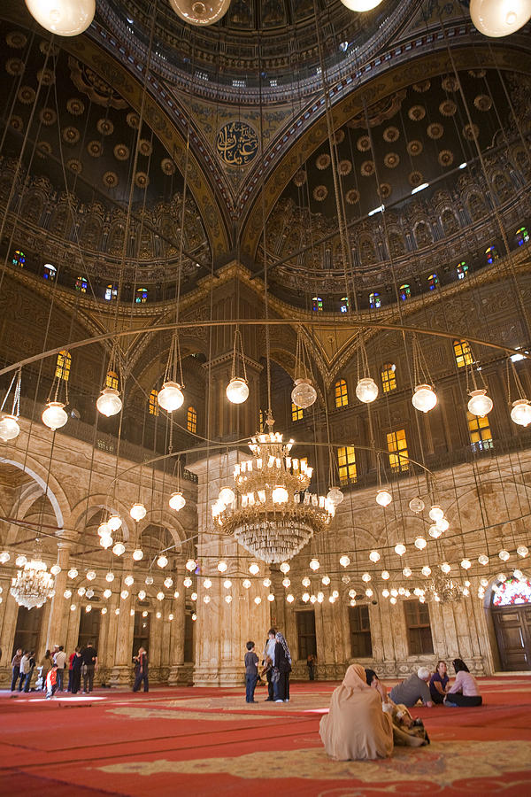 The Mosque Of Mohammed Ali In Saladins Photograph