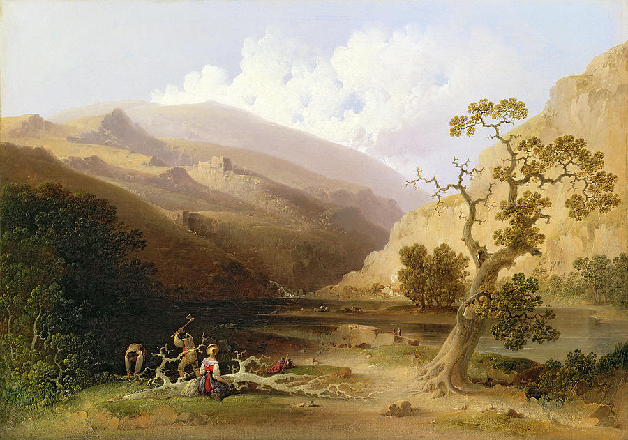 The Pioneers Painting