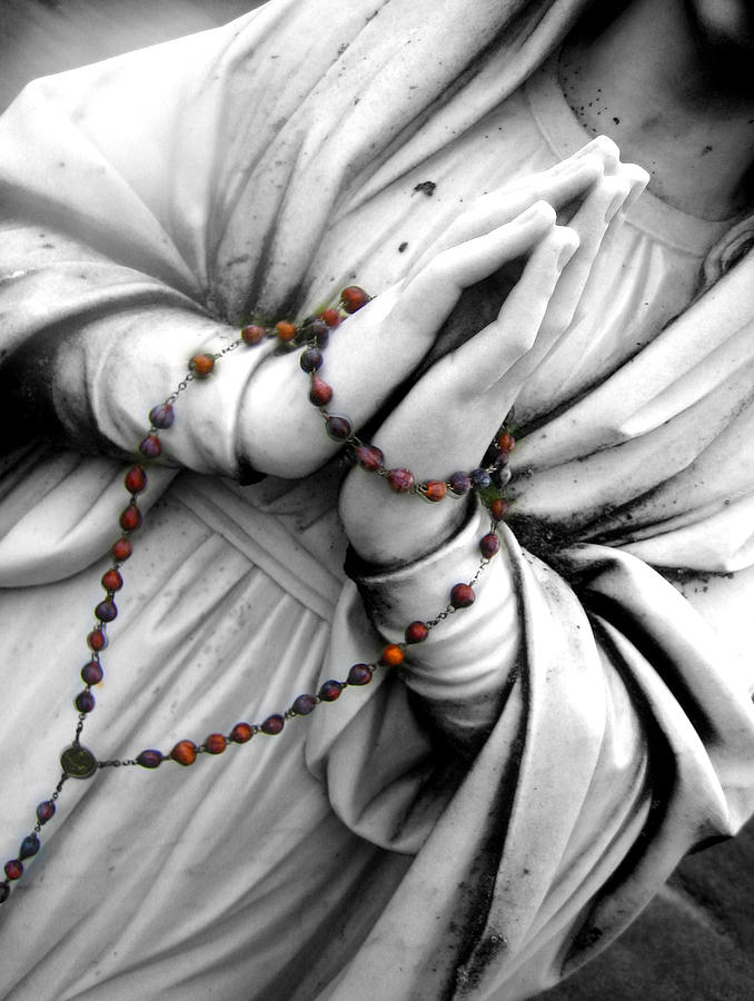 The Rosary Photograph  - The Rosary Fine Art Print