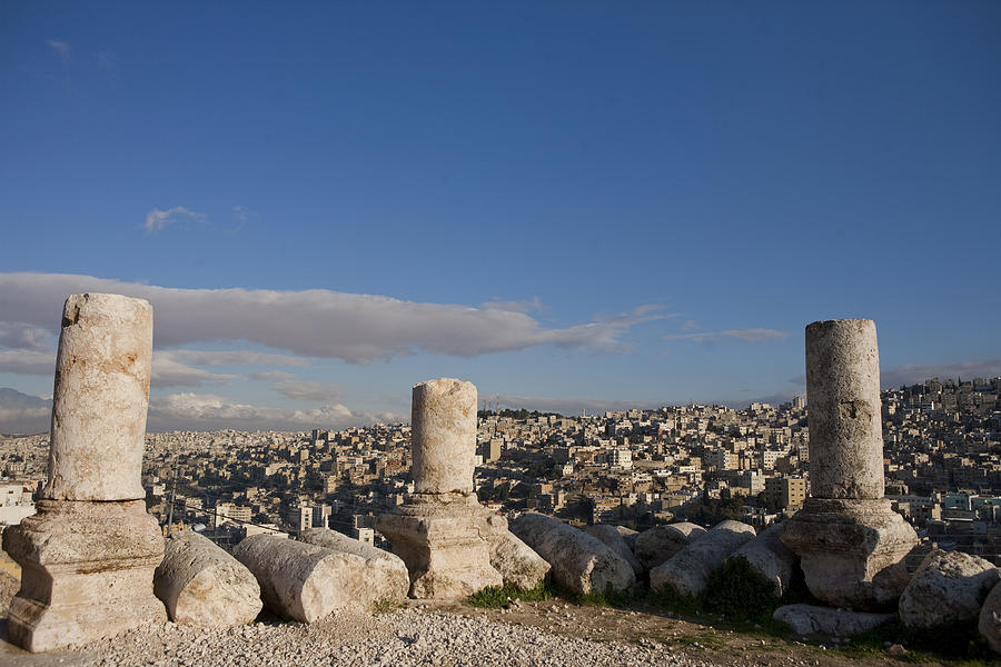 Ruins Photograph - The Ruins Of The Ancient Citadel, Or by Taylor S. Kennedy