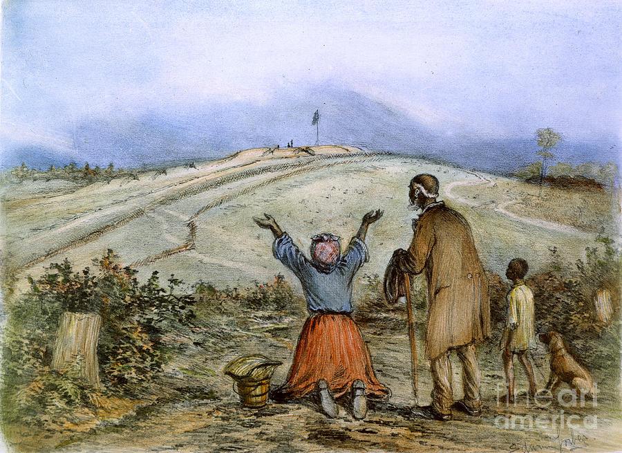 The Sanctuary, 1863 Photograph