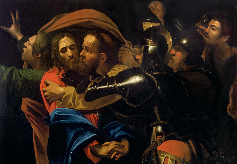 The Taking Of Christ Painting  - The Taking Of Christ Fine Art Print