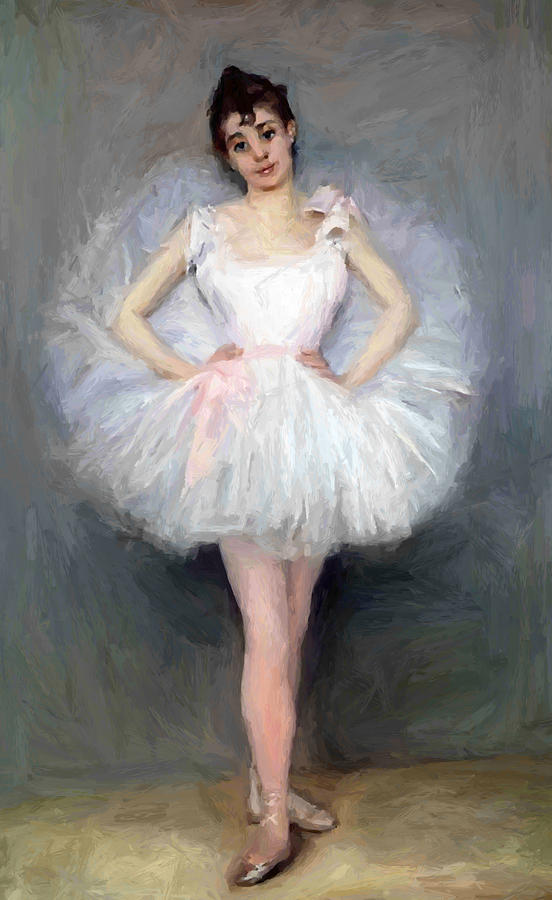 The Young Ballerina  Painting