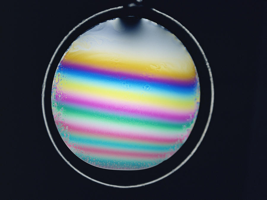 Thin Film Interference Photograph  - Thin Film Interference Fine Art Print