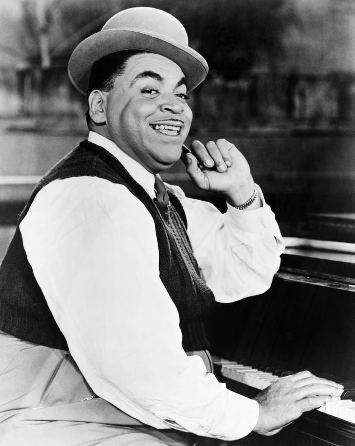 Thomas Fats Waller Photograph  - Thomas Fats Waller Fine Art Print
