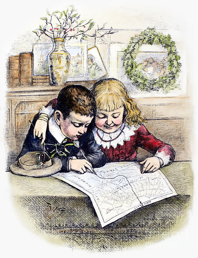 Thomas Nast: Christmas Photograph  - Thomas Nast: Christmas Fine Art Print