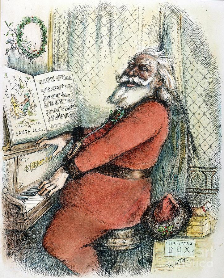 Thomas Nast: Santa Claus Photograph