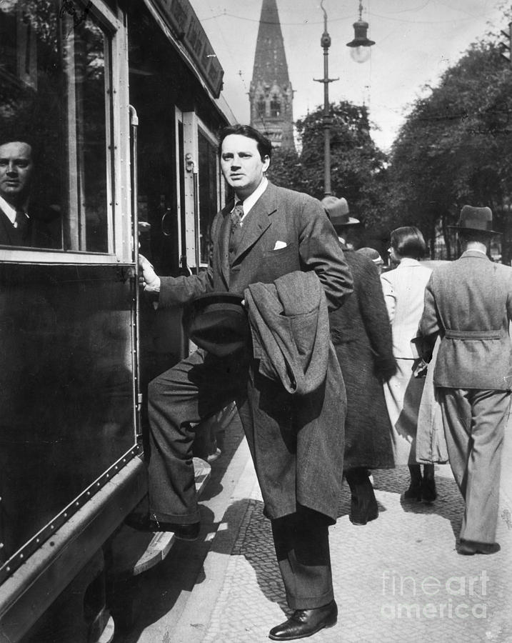 Thomas Wolfe (1900-1938) Photograph