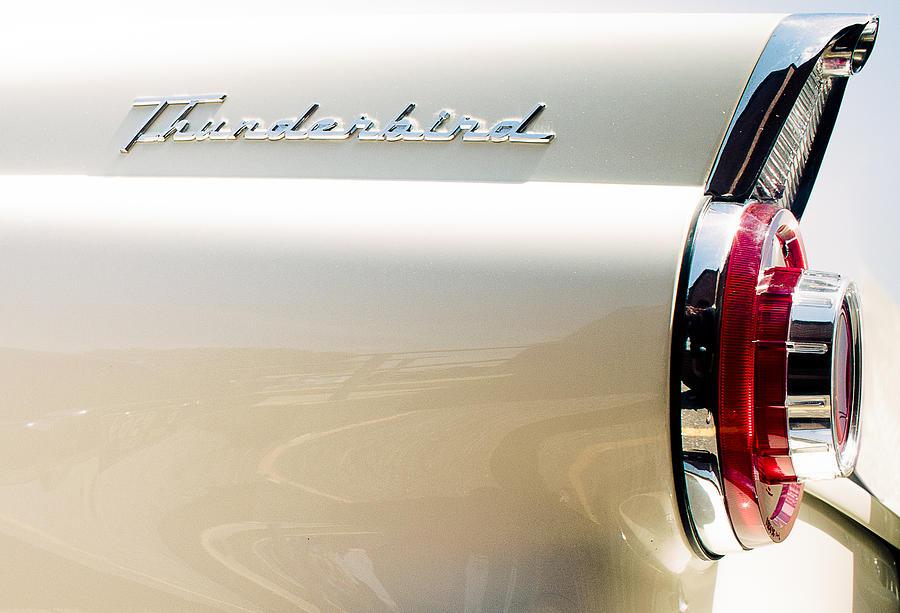 Car Photograph - Thunderbird by Elizabeth Wilson