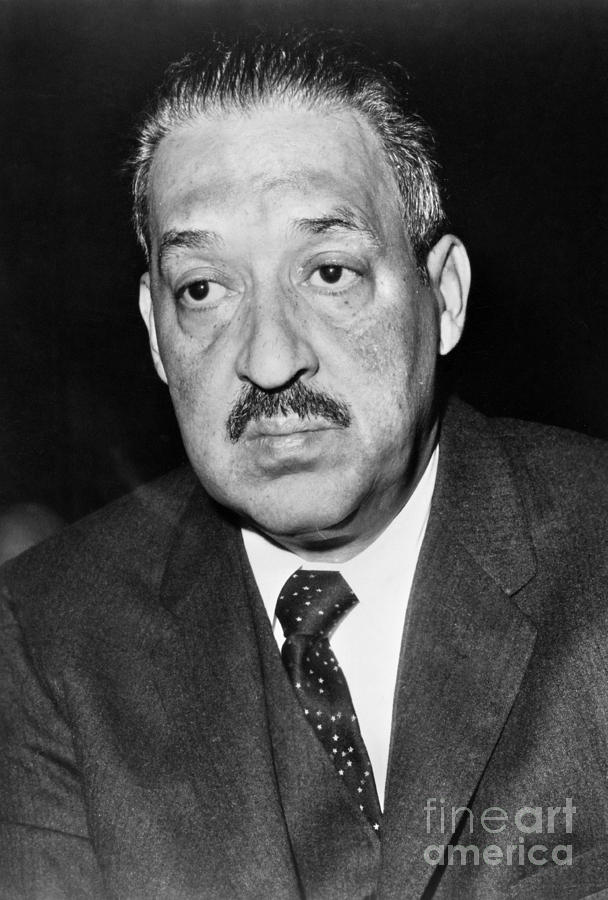 Thurgood Marshall Photograph By Granger