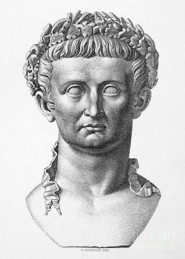 1st Century Photograph - Tiberius (42 B.c.- 37 A.d.) by Granger