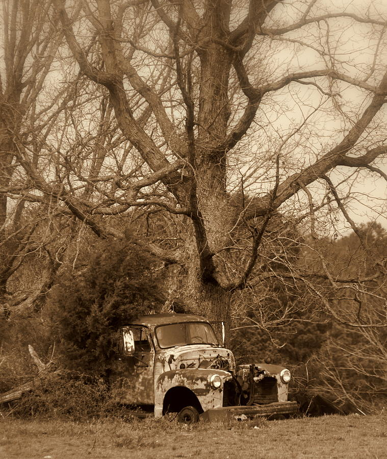 Truck Photograph - Times Past by Marty Koch