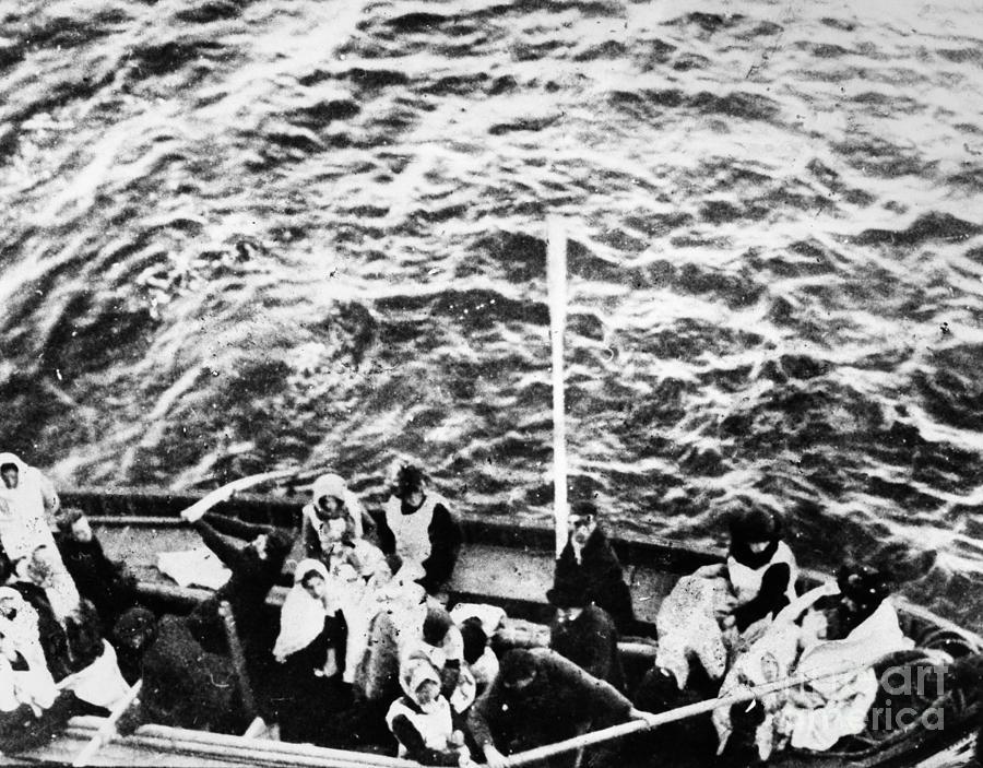 Titanic: Lifeboats, 1912 Photograph