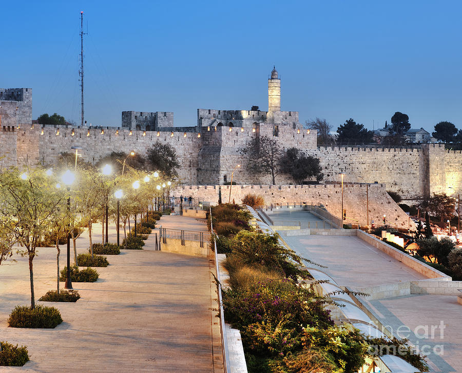 Tower Of David Photograph