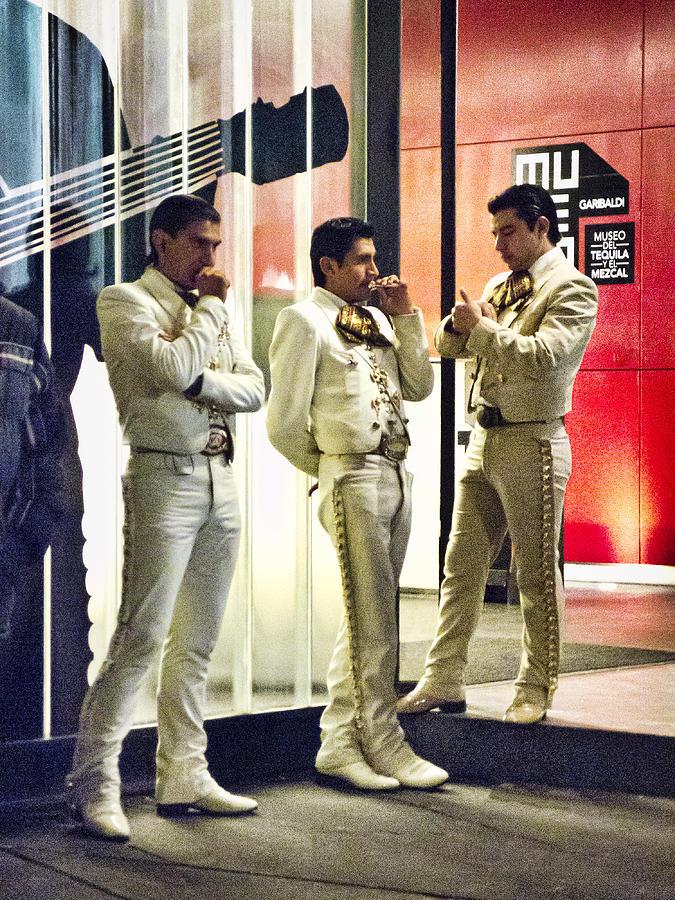 Tres Amigos Photograph