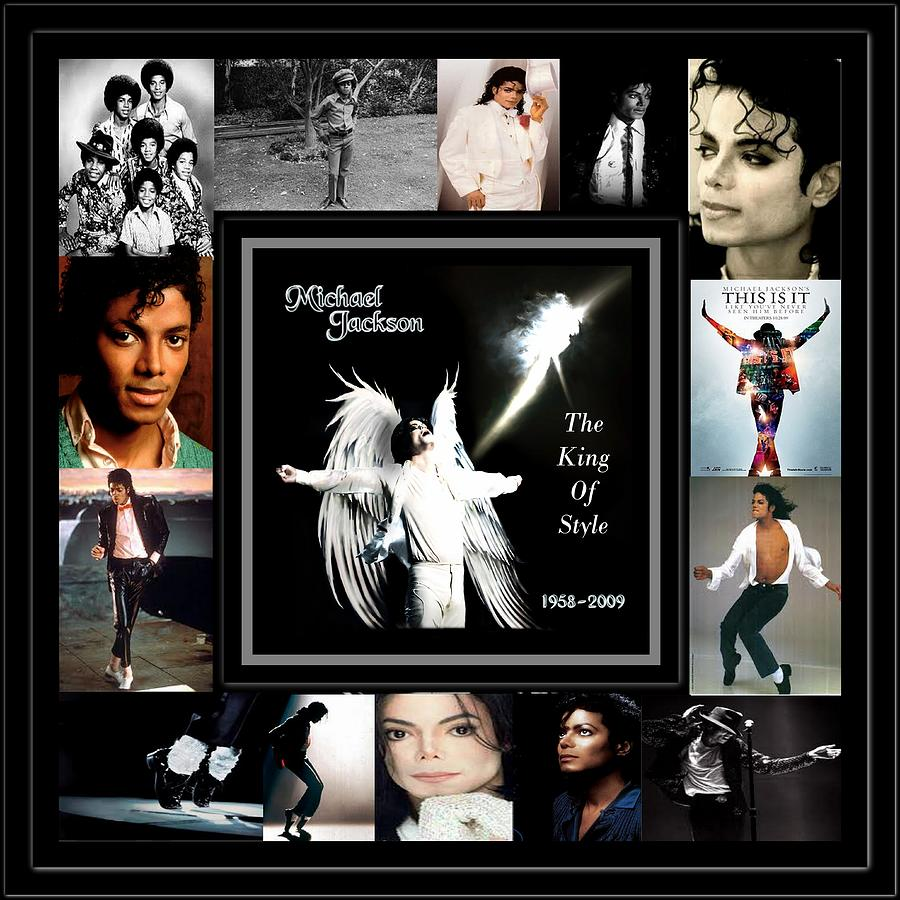 Tribute To Michael Jackson The King Of Style Photograph  - Tribute To Michael Jackson The King Of Style Fine Art Print