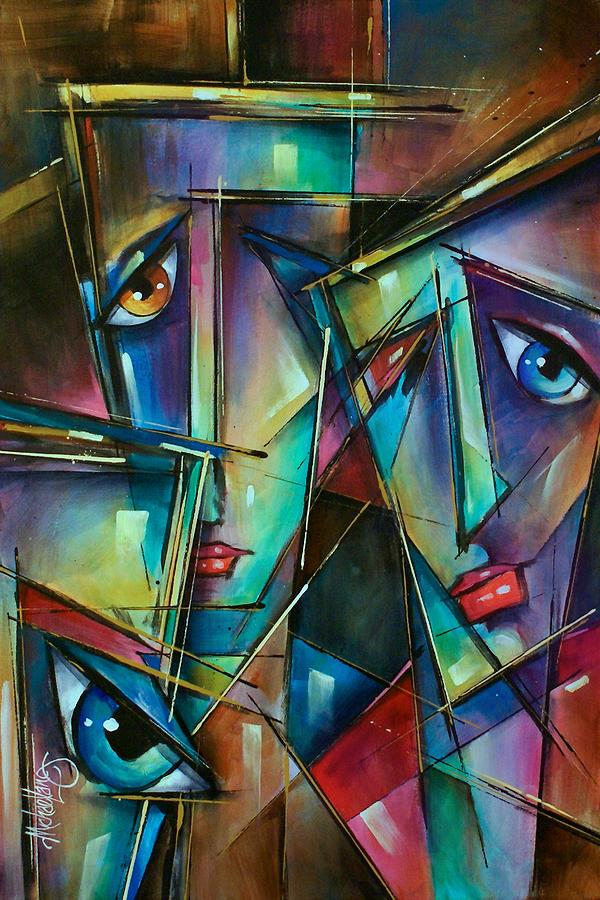 Trio Painting