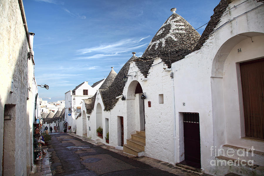 Trulli In Alberobello Photograph  - Trulli In Alberobello Fine Art Print