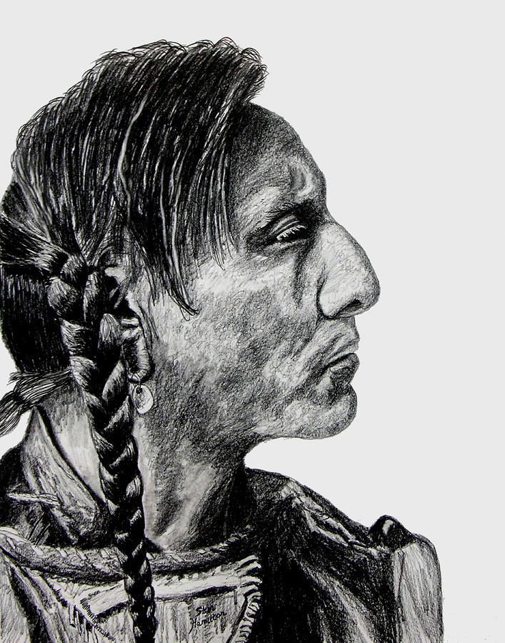 Unknown Indian II Drawing