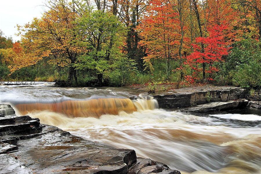 Unnamed Falls Photograph