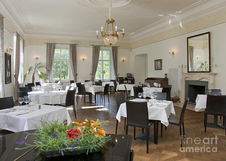 Upscale Hotel Dining Room Photograph