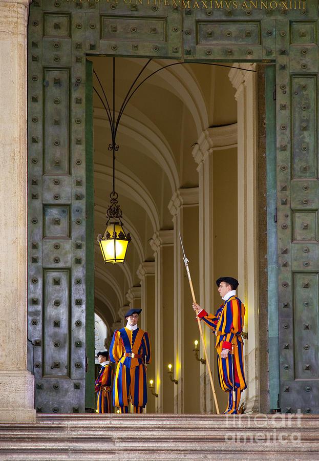 Vatican Entrance Photograph