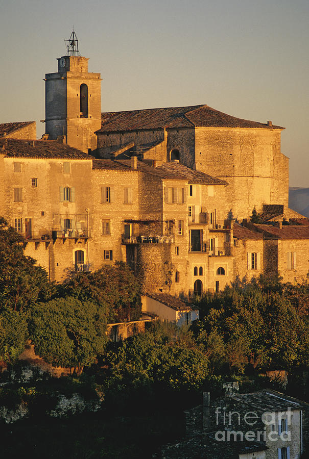 Village De Gordes. Vaucluse. France. Europe Photograph