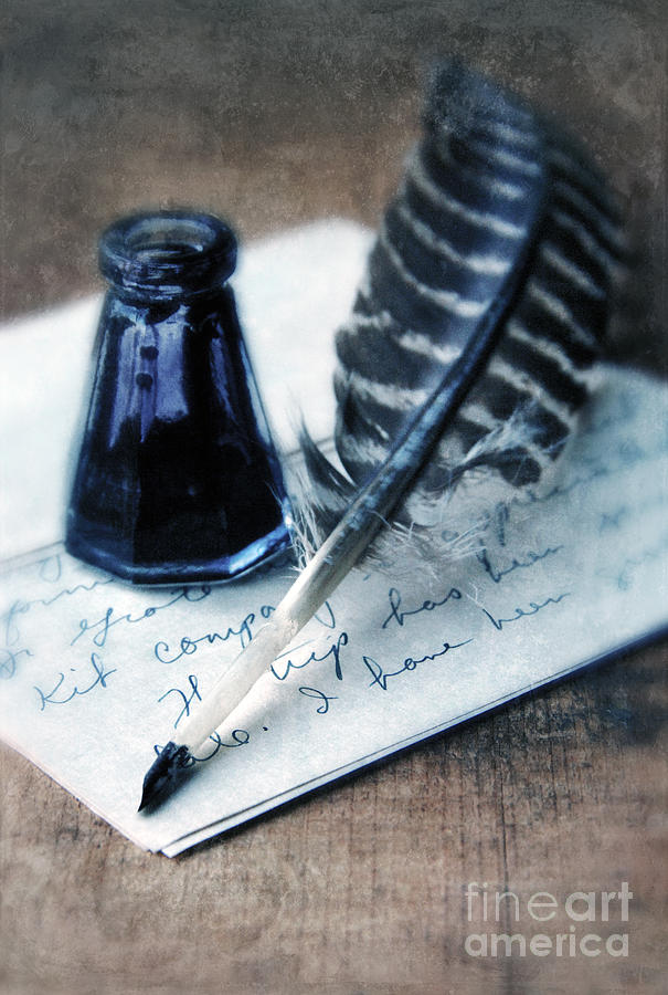 Quill And Ink Vintage Letter ...