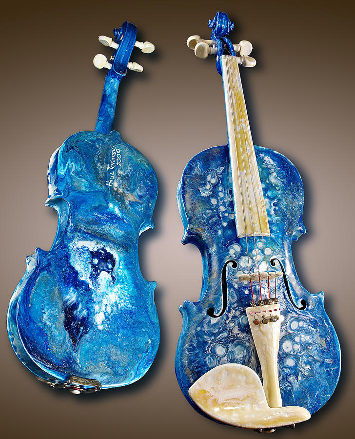 Painted Violins Art