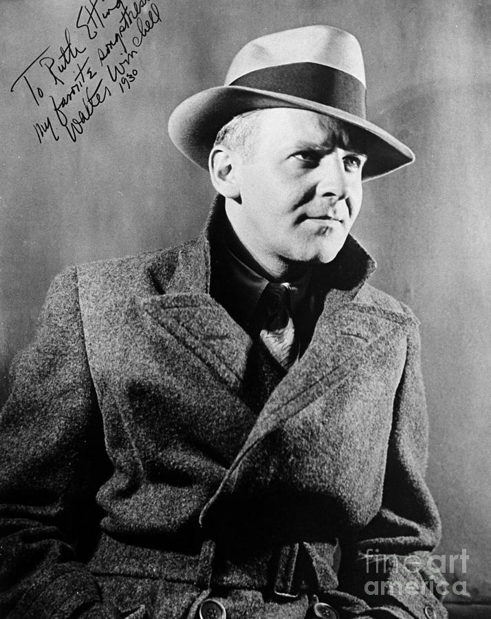 Walter Winchell (1897-1972) Photograph