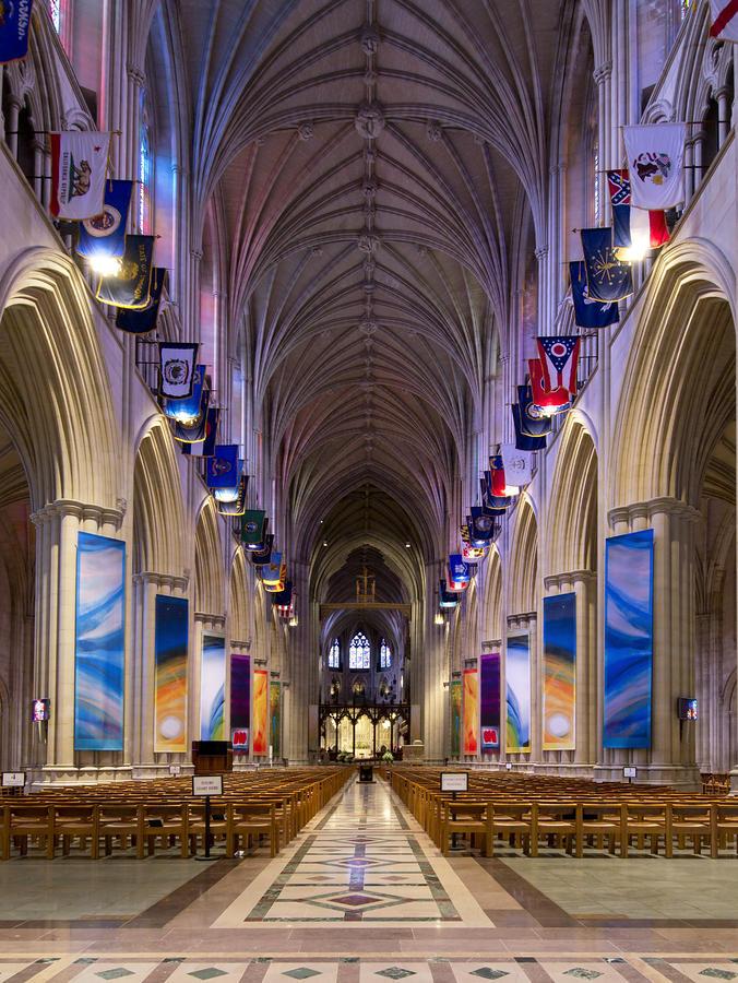 Washington National Cathedral - Washington Dc Photograph