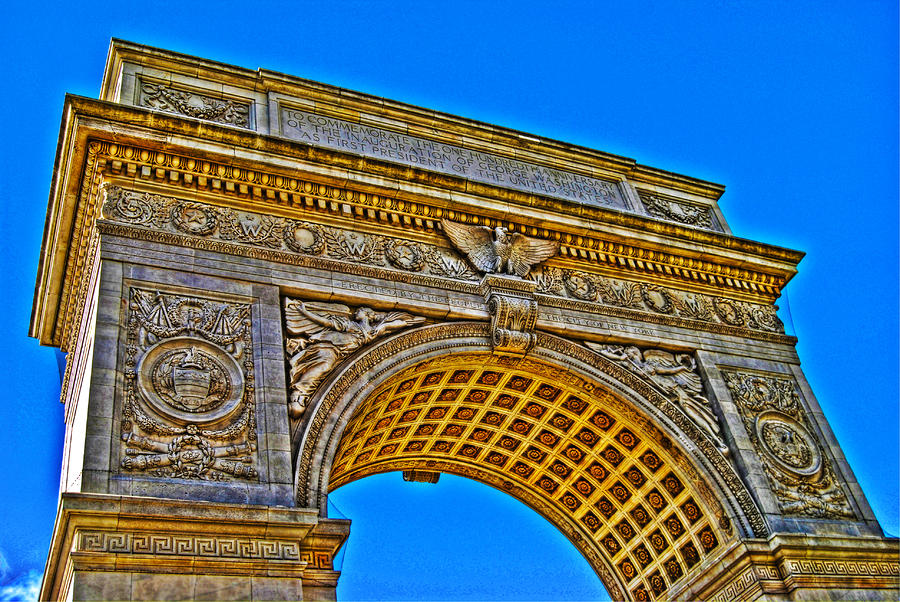Washington Square Arch Photograph