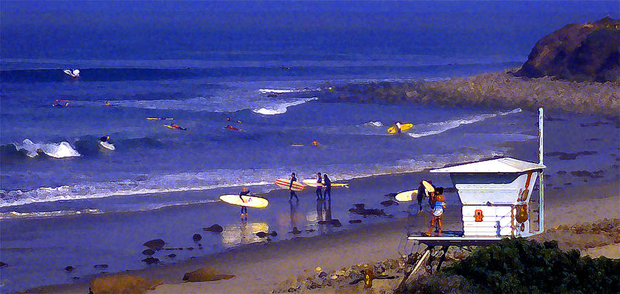 Wave Riding At County Line Photograph