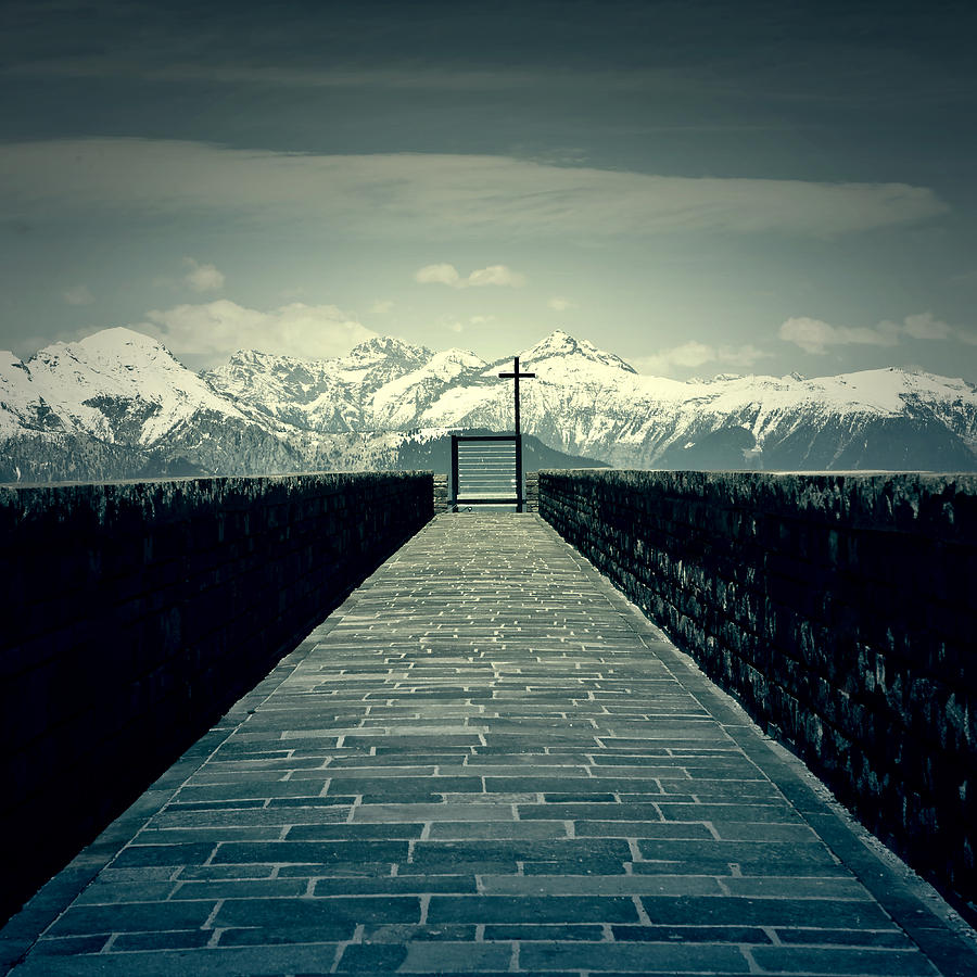 Bridge Photograph - Way To Heaven by Joana Kruse