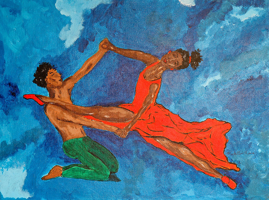 We Love To Dance Painting  - We Love To Dance Fine Art Print
