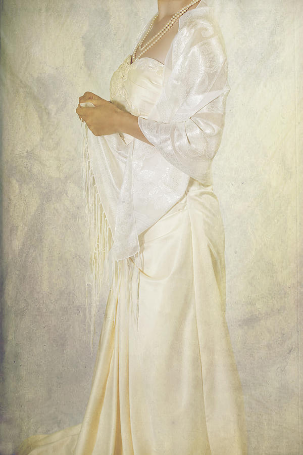 Female Photograph - Wedding Dress by Joana Kruse