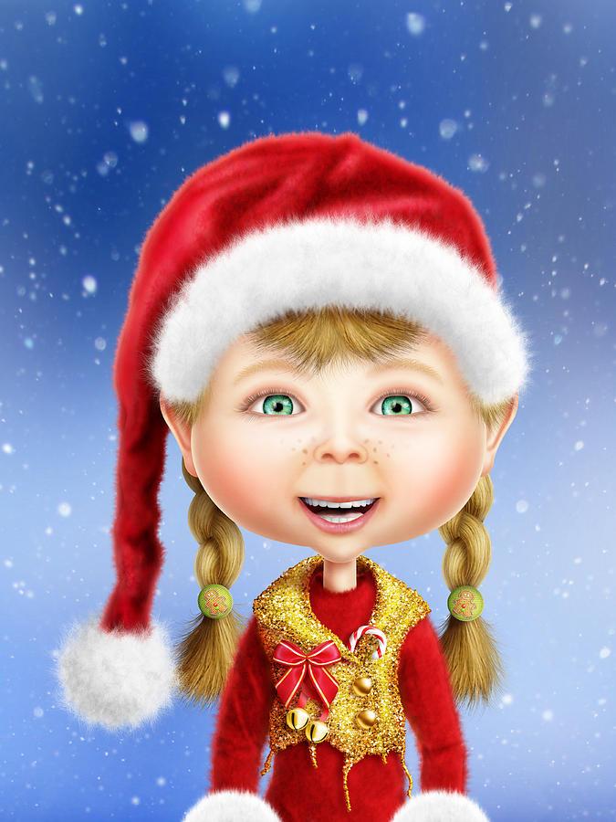 christmas elf wallpaper - photo #27