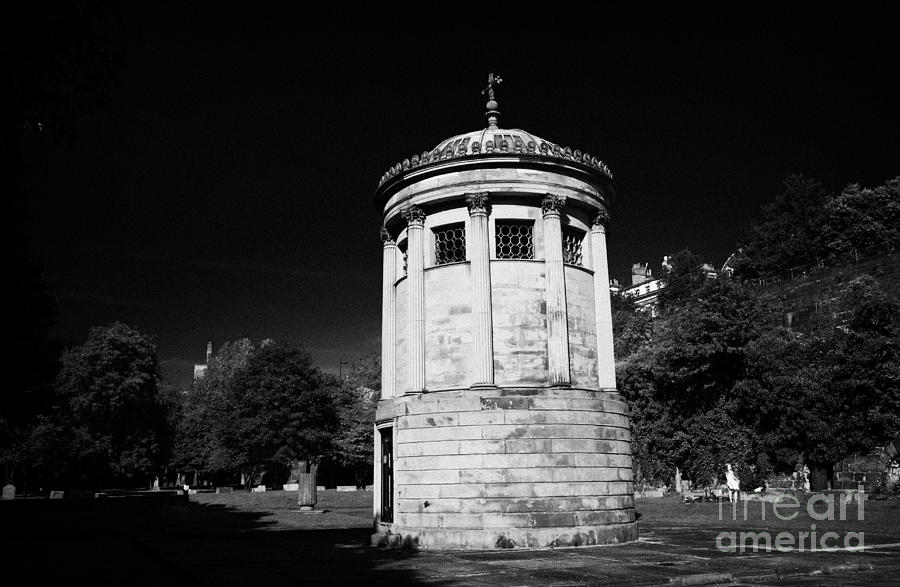 William Huskisson Memorial In St James Cemetery Liverpool Merseyside England Uk  Photograph