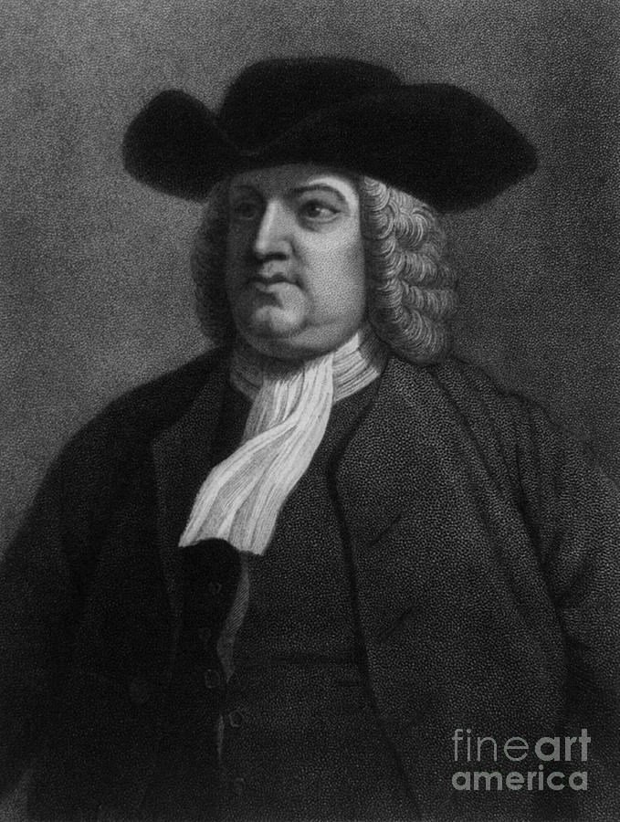 William Penn, Founder Of Pennsylvania Photograph  - William Penn, Founder Of Pennsylvania Fine Art Print