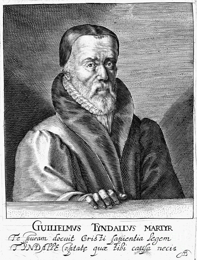 William Tyndale (1492?-1536) Photograph  - William Tyndale (1492?-1536) Fine Art Print